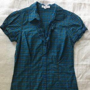 Beautiful ruffle blouse